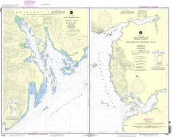 Southeast Alaska Nautical Charts Noaa Chart 17363 Pybus Bay Frederick Sound Hobart And Windham Bays Stephens P