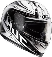 Hjc Fg St Crucial Helmet White Black Usa Discount Online