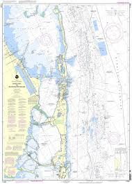Noaa Chart 11463 Intracoastal Waterway Sands Key To Blackwater Sound