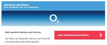 tutorial order an o2 sim card in germany