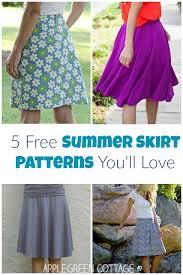 Skirt Patterns Best 48 Free Summer Skirt Patterns You'll Love AppleGreen Cottage
