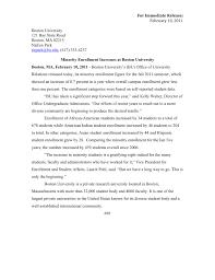 Cover Letter Boston University Bu Cover Letter Under Fontanacountryinn Com