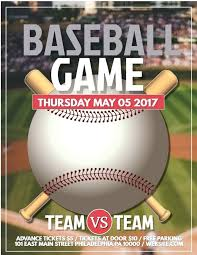 Free Baseball Flyer Template Baseball Game Poster Template Unique Of Softball Tournament