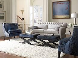 Light Gray Settee Contemporary Button Back Lounge Sofa Settee Contemporary