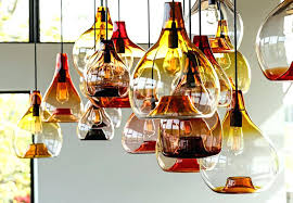 art glass pendant light g strata art glass pendant light