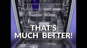 How To Clean A Dishwasher How To Clean Your Dishwasher In Under A Minute Youtube