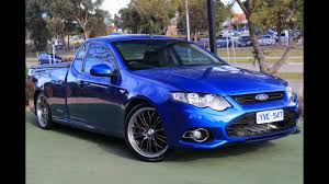B6854 - 2012 Ford Falcon Ute XR6 Turbo FG MkII Manual Super Cab ...