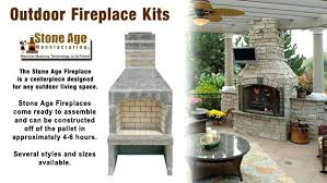 outdoor masonry fireplace kits s brick canada