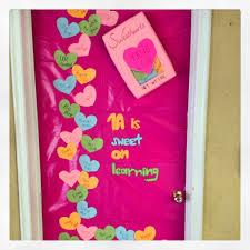 Valentine Door Decoration Ideas Decorate School Door For Valentine Valentines Day Door