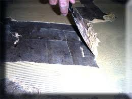 concrete floor prep removing adhesive from vinyl for tile