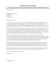 Non Profit Cover Letter Examples