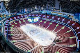 Canucks Virtual Seating Chart Rogers Arena Vancouver Seat Numbers Detailed Seating Plan