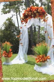 fall wedding arch decorating ideas unique fl arrangements by rose fisher