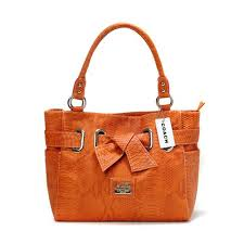 Coach Embossed Bowknot Signature Medium Orange Totes DDR   purses    Pinterest   Emboss, Choices and Stylish