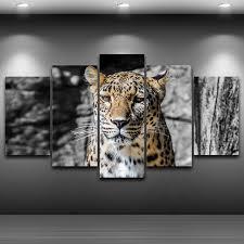 leopard framed wall art