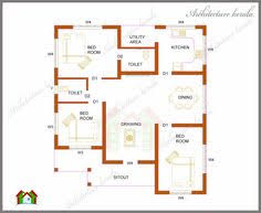 images about Low Medium cost house designs on Pinterest    ARCHITECTURE KERALA  THREE BEDROOMS IN SQUARE FEET KERALA HOUSE PLAN