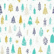 cute christmas background. Perfect Christmas Illustration  Seamless Christmas Background With Cute Trees And  Falling Snow Holiday Decoration Isolated Elements Vector Illustration To Cute Christmas Background T