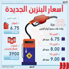أسعار البنزين الجديدة (إنفوجراف)
