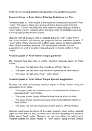 the attack on pearl harbor research papers research paper on pearl harbor customwritings com blog