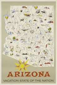 85 best sweet home arizona images on pinterest arizona travel Travel Map Of Arizona arizona vacation state of the nation poster, 1960s travel map of arizona and utah