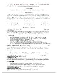 Chef Resume Example Executive Chef Resume Template And Marketing