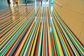 vinyl flooring tape floor installation by jim lambie 4 double sided vinyl flooring tape