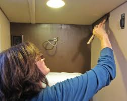 How To Paint The Vinyl Walls In Your Rv Trek With Us