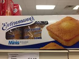 Hometown Market Entenmanns Mini Pound Cakes Facebook