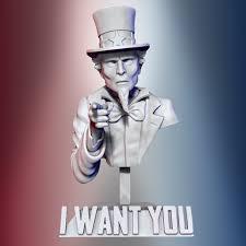 Download 3D <b>printing</b> files <b>Uncle Sam</b> ・ Cults