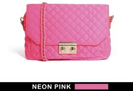 Pull&Bear Quilted Bag In Neon Pink   Where to buy & how to wear & ... Pink Quilted Leather Crossbody Bags Pull&Bear Quilted Bag In Neon ... Adamdwight.com