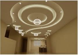 modern false ceiling gypsum board ceiling design for living room hall 2019