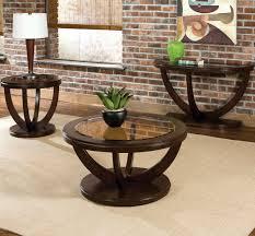 standard furniture la jolla  piece coffee table set in cherry