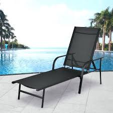 patio furniture chaise lounge. Patio Furniture Recliner Chairs Pool Chaise Lounge Chair With Adjustable Back Wooden Garden