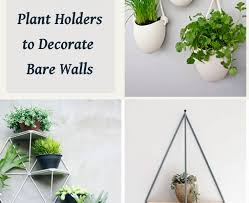 15 modern wall mounted plant holders to