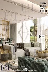 Fancy Home Design Studio Luxury Minimalists Design For Dubai House In Beige Color