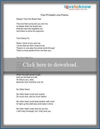 free printable love poems and sbook