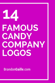 14 famous candy pany logos