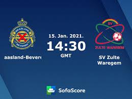 Waasland-Beveren SV Zulte Waregem Live Ticker und Live Stream - SofaScore