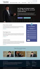 Web Design Office Enchanting Web Design And Development For Valentini Law Windmill Design