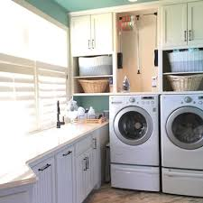 cabinets above washer and dryer. place cabinets over washer \u0026 dryer laundry-room-organization-tips above and
