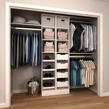 small closet storage system