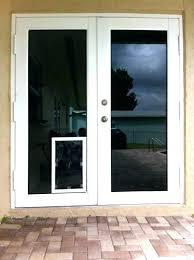 slidg dog door in glass installation brisbane stll