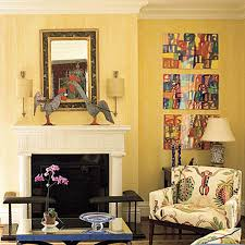 living room corner decoration