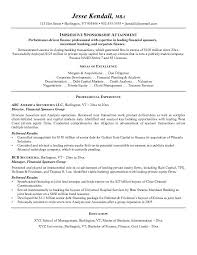 Sponsorship Resume Template Alluring Investment Banking Sales Resume
