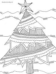 Small Picture Christmas Coloring Pages Doodle Art Alley