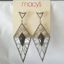 macys long chandelier earrings m chandelier s ukulele easy