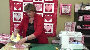 Quilting Valentine's Hearts Using Charm Packs - YouTube &  Adamdwight.com