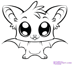 Easy Coloring Page Cute Easy Animals To Draw Printable To Pretty