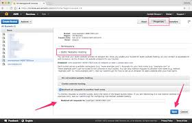 Redirecting a domain with HTTPS using Amazon S3 and CloudFront ...