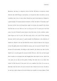 rashomon essay perception 3 gokita 3 rashomon